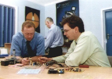 Tritec engineers at work on design consultancy services