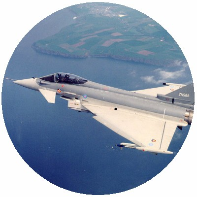 BAe Systems Typhoon in flight