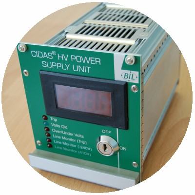 Power supply developed for BIL solutions and British Nuclear Group.